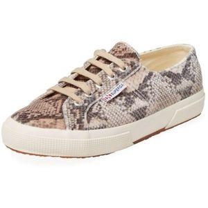 NWT Superga Snakeskin Sneakers Size 6